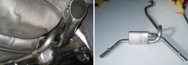 RJC Racing 3inch Exhaust