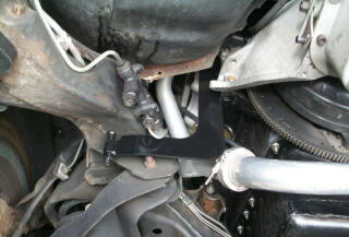 RJC Rear Motor Brace Installed