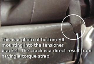 Torque Strap Crack