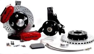 Baer brake with spindles